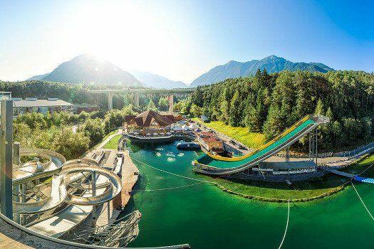 Kombiticket zur AREA 47: Hochseilgarten Air Trail + Water AREA