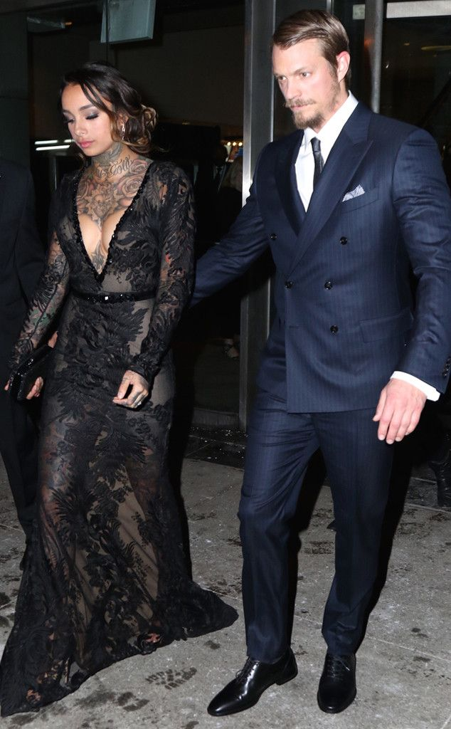 """Joel Kinnaman & Cleo Wattenstrom from Secret Celebrity Weddings  After dating less than two years, Joel announced he was married during a taping ofThe Talk. When a co-hostreferred to Cleo as his """"girlfriend,"""" he quickly said, """"wife."""""""