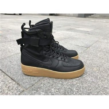 the best attitude 0cc03 c5dee Nike Special Field Air Force 1 Mid Men s Black Black Gum Light Brown 917753- 003