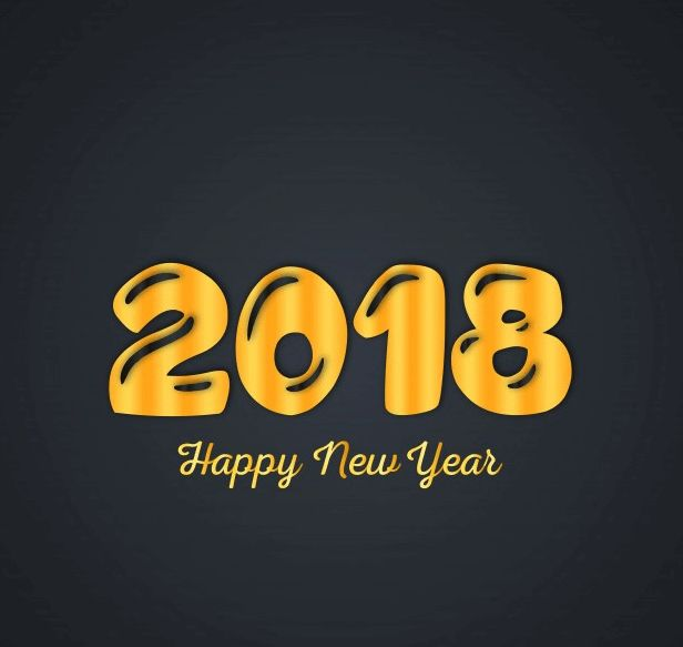 Best New Year 2018 Photos Yellow