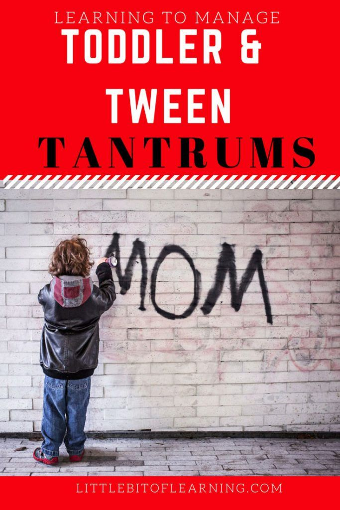 I have learned that toddlers and tweens are practically the same…when it comes to causing headaches. Throwing tantrums is something every mother dreads. Which is why they are called the terrible twos…but then...