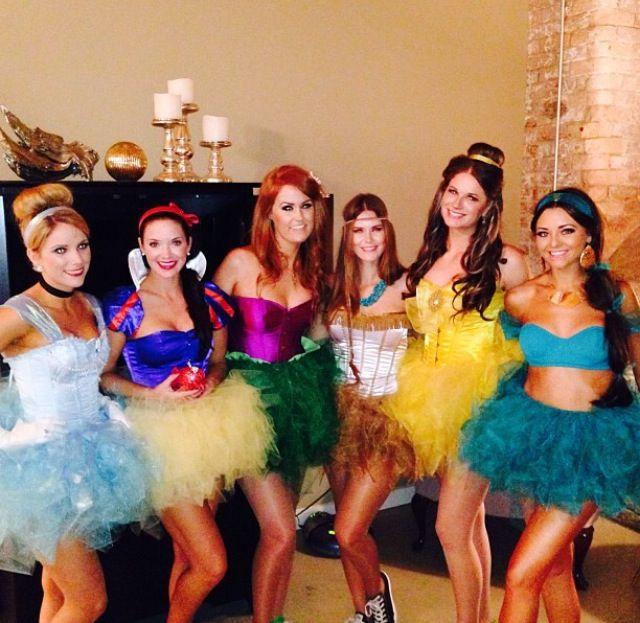 Disney Princesses costumes