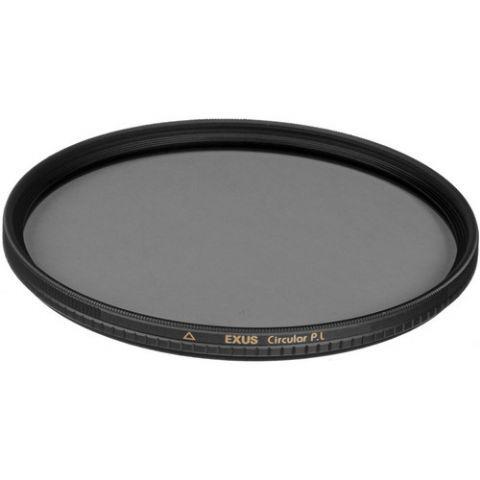"""Marumi Circ. Pola Filter EXUS 82 mm  HetMarumi Circ. Pola Filter EXUS 82 mm combineert de bekende prijs/kwaliteit verhouding van Marumi met de professionele eigenschappen van een topfilter. De EXUS-lijn staat voor een matzwarte metalen rand en een zwart gekleurde zijkant van het optiek. Het filter is voorzien speciale coating en speciale """"light-protecting ridges"""" die ongewenste reflecties minimaliseren. De EXUS filters zijn de beste filters in hun soort doordat ze voorzien zijn van een vuil…"""
