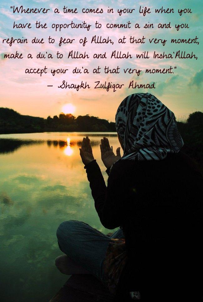 Sheikh Zulfiqar Ahmad on Refraining from Sins