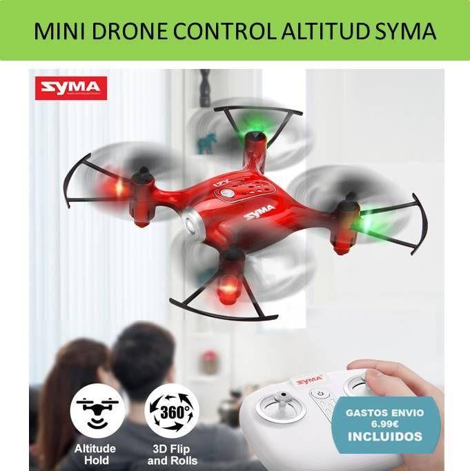Mini Drones SYMA y vehiculos teledirigidos por radiocontrol RC