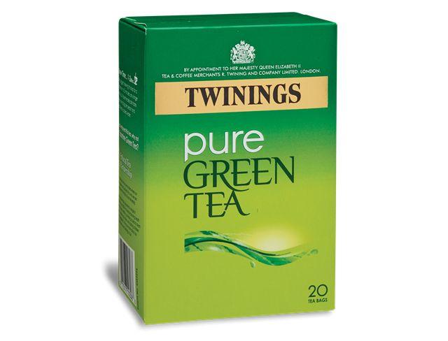 Pure Green - 20 Tea Bags (Image 2)