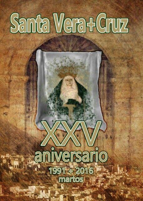 propuesta de #cartel para el aniversario de la hermandad de la #veracruz de #martos