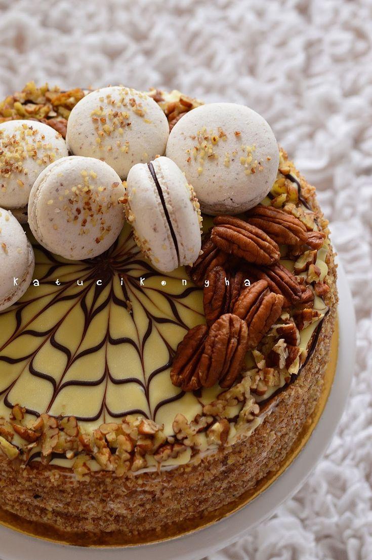 hungarian Eszterházy cake