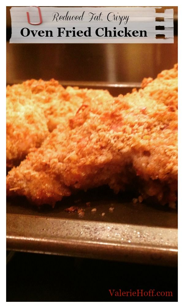 Oven Fried Chicken with Panko