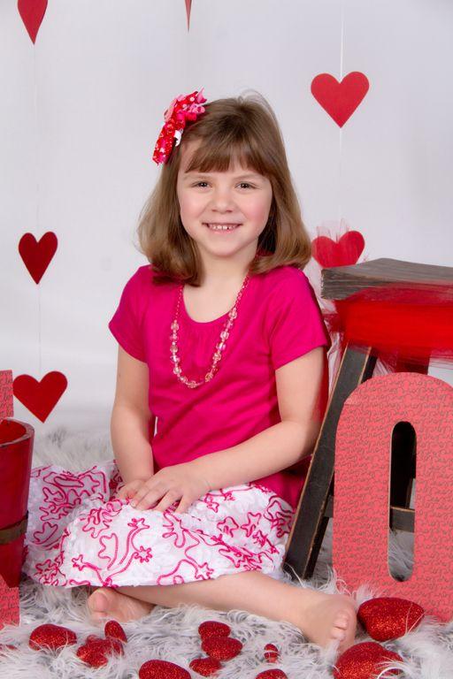 """Big Sister XOXO"" Portrait Creations Professional Valentine's Portraits- Charlotte, NC."