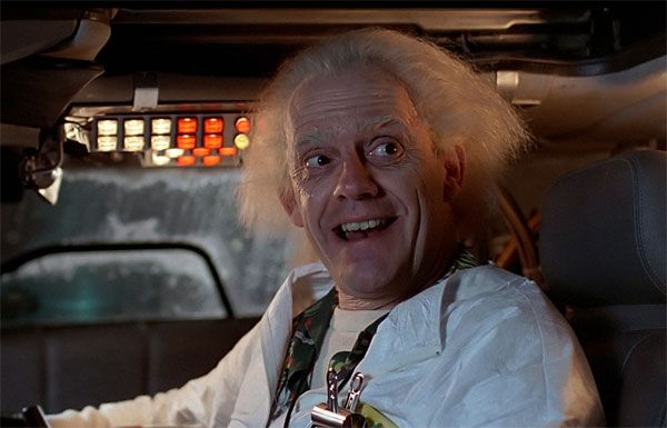 "Great Character: Dr. Emmett Brown (""Back to the Future"" Trilogy) 