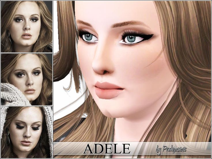 Adele Laurie Blue Adkins, for more informations about her: http://en.wikipedia.org/wiki/Adele_(singer)  Found in TSR Category 'Female'