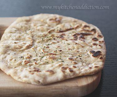 Sourdough Naan Flatbread Recipe