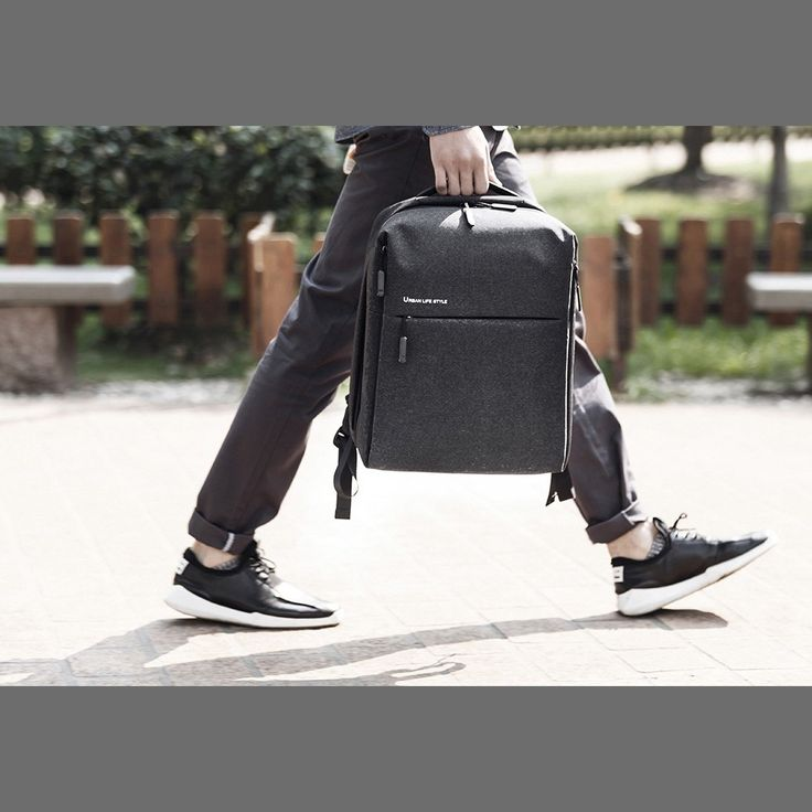 Original Xiaomi Minimalism Backpack Urban Life Style Bag Four Sales Online deep blue - Tomtop.com