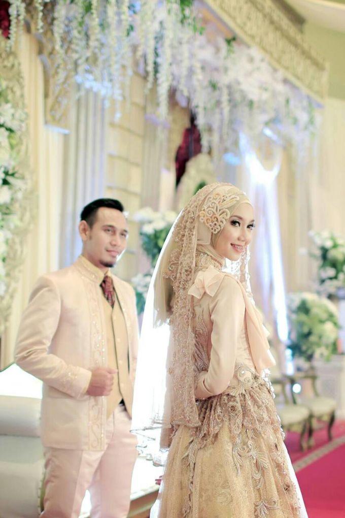 Nia & Fifin Wedding by LAKSMI - Kebaya Muslimah & Islamic Wedding Service - 001