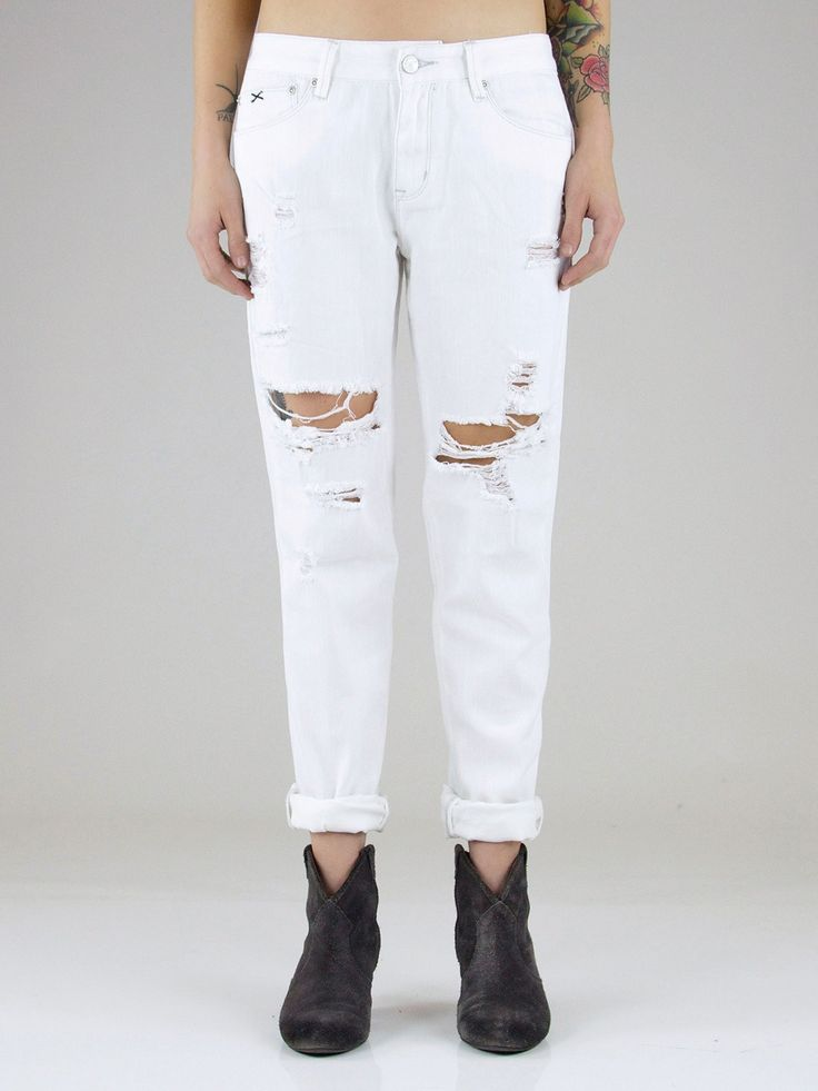 RES Denim - Romeo Whitewalker Boyfriend Jeans