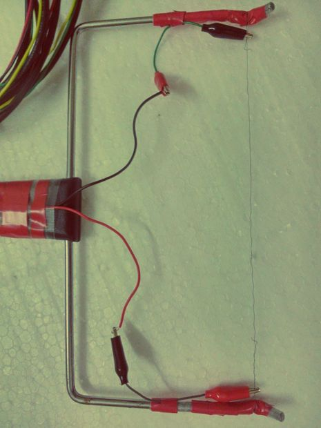 how to make a hot wire cutter