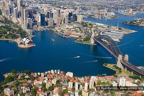 Sydney City Aerial View, Sydney, NSW, Australia