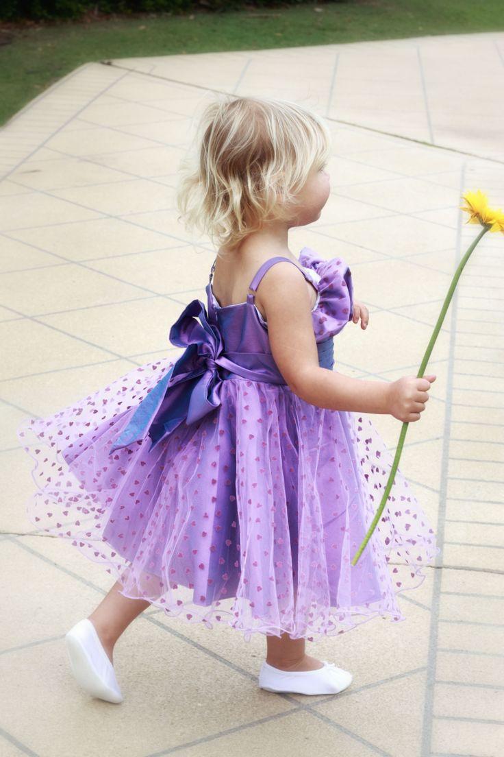 stunning flower girl dress at cute4suit http://www.cute4suit.com.au/product/party-dress-pretty-girls-dress-girls-formalwear/ #purplegirlsdresses #purpleflowergirls