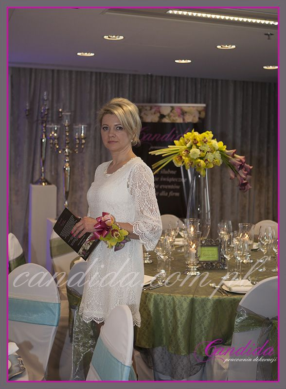 Grażyna Górska - dekoracja stołu weselnego