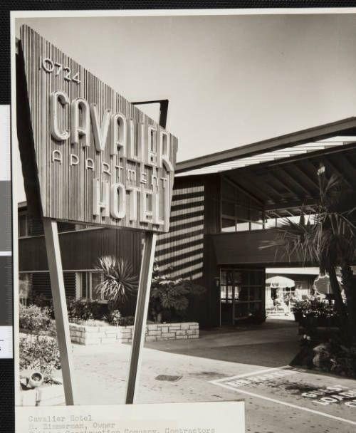 fickett-cavalier-001~1 :: Photograph, Cavalier Hotel, 1948 :: Edward H. Fickett, FAIA, Collection. http://digitallibrary.usc.edu/cdm/ref/collection/p15799coll25/id/36