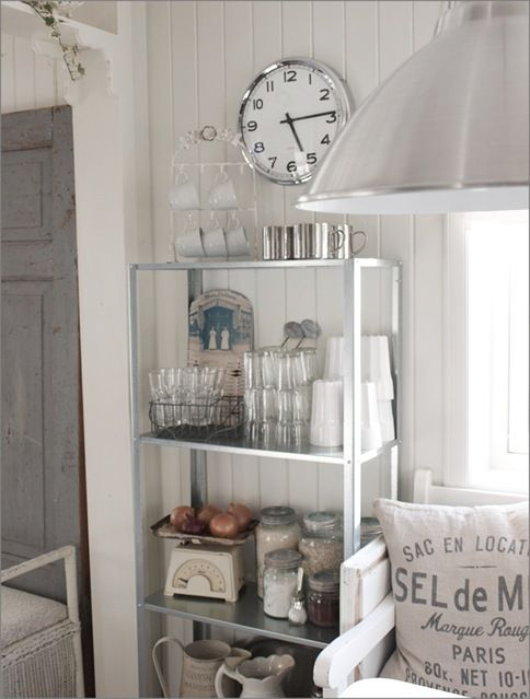 ikea hyllis industrial metal shelves for kitchen (indoors or outdoors)