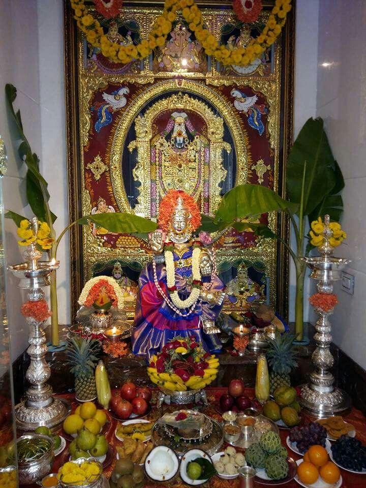 139 best pooja images on pinterest pooja rooms mandir for Decoration kaise kare