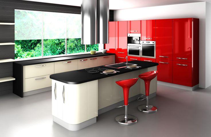 Cocinas de diseño o prácticas y cómodas. Tú eliges!