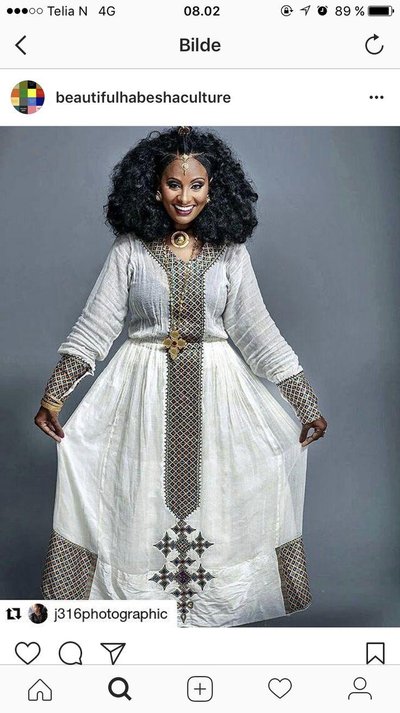 33 best habesha images on pinterest african fashion for Habesha dress for wedding