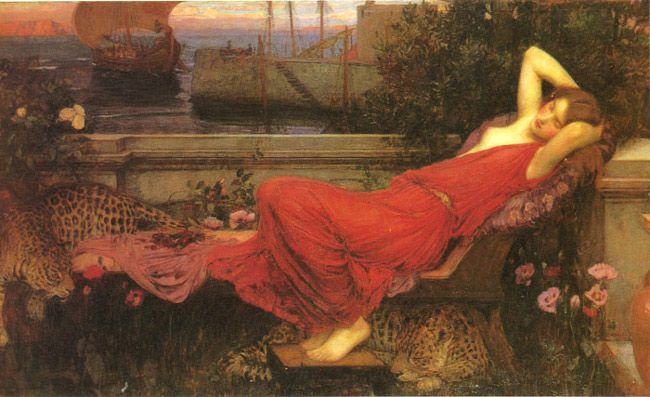 Masters were greatly inspired by Greek Mythology. Ariadne - John William Waterhouse