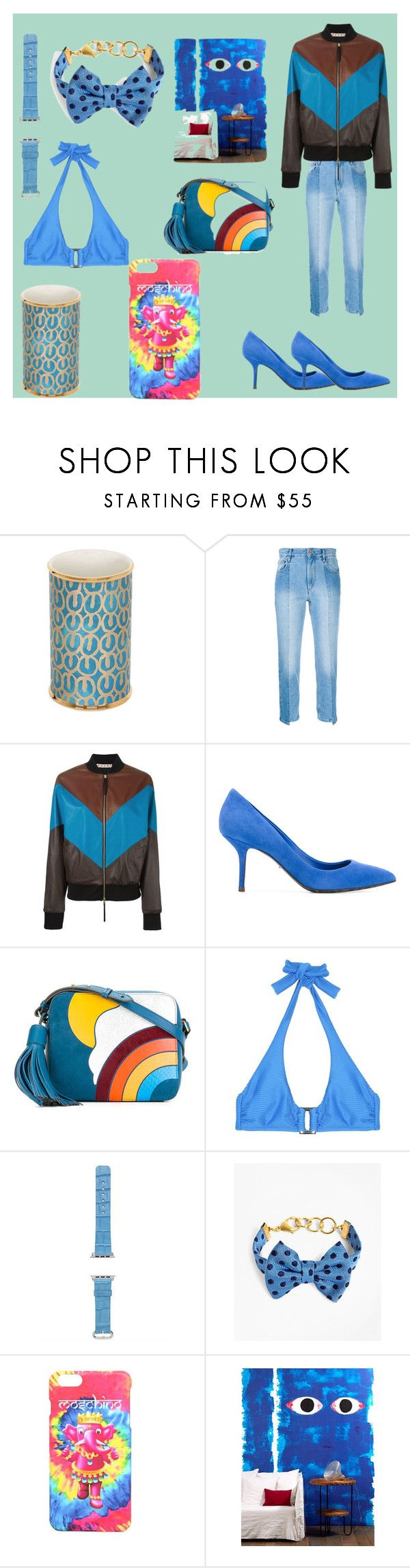 """""""set sale alert"""" by denisee-denisee ❤ liked on Polyvore featuring L'Objet, Étoile Isabel Marant, Marni, Dolce&Gabbana, Anya Hindmarch, Heidi Klein, Hadoro, Brooks Brothers, Moschino and NLXL"""