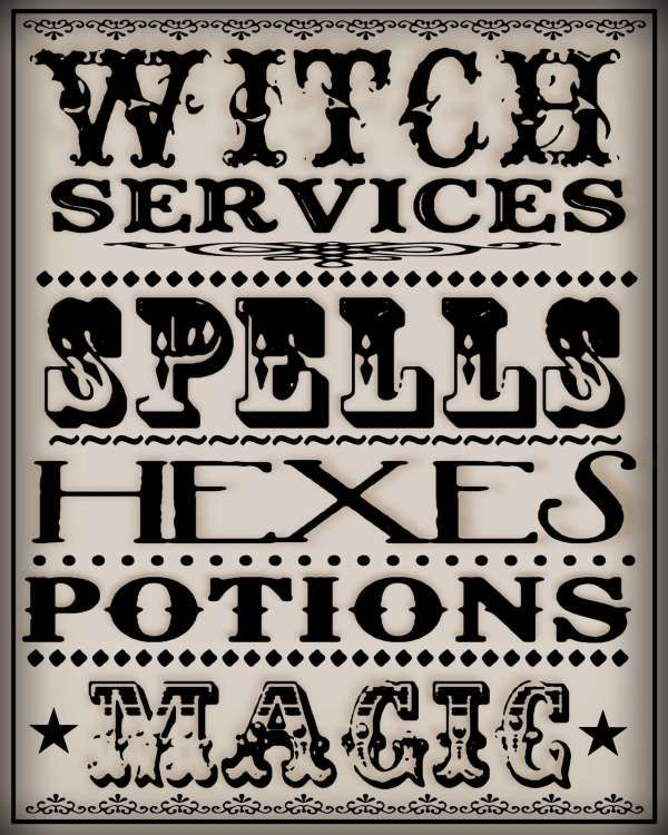 Witches Spells | Witch spells