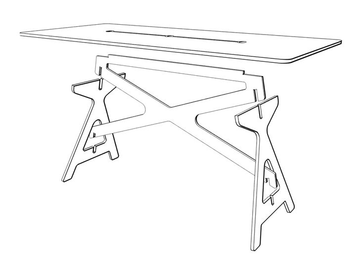 Nice portable and breakdownable table. I could think of many uses for this.