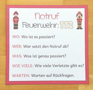 Materialwiese: Notruf absetzen in der Grundschule