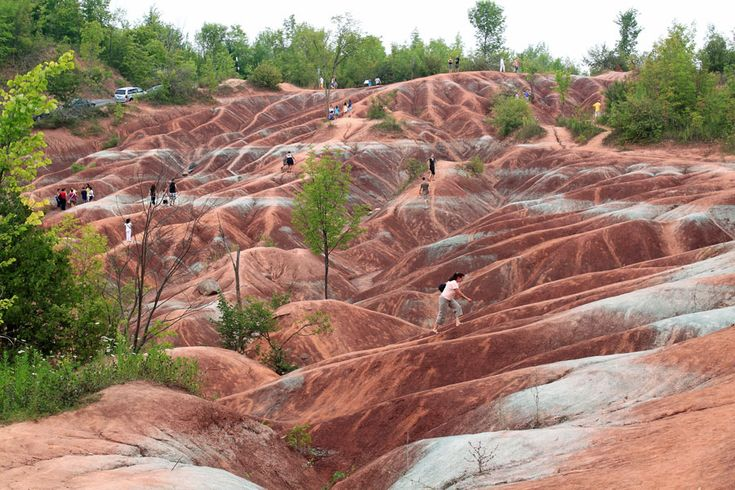 Cheltenham Badlands, Канада