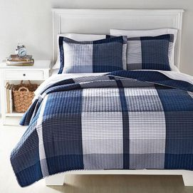 wholeHome CASUAL(TM/MC) ''Keaton'' Quilt Set #quilt #SEARSBACK2CAMPUS