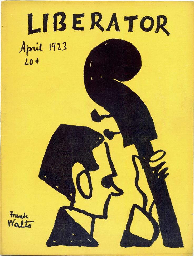 April 1923. Cover illustration by Frank Walts.