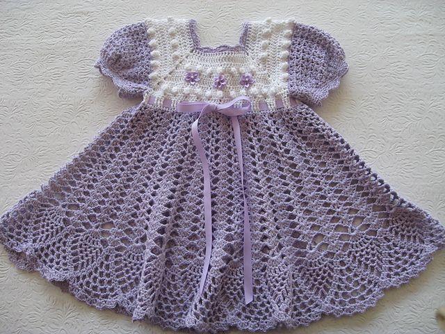 Ravelry: Popcorn Dress pattern by Maria Bittner
