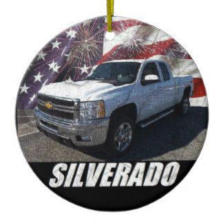 2013 Silverado 2500HD Extended Cab LTZ Z71 Ceramic Ornament