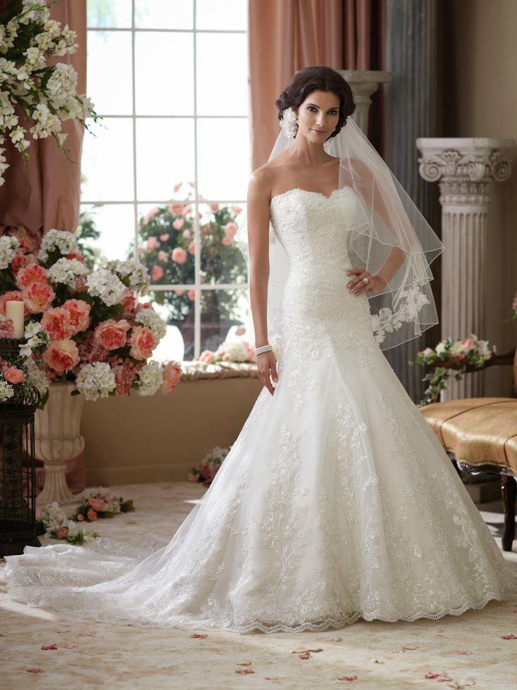 63 best فساتين زفاف images on Pinterest | Hochzeitskleider, Kleid ...