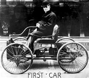 Henry Ford's first car; the Quadricycle.