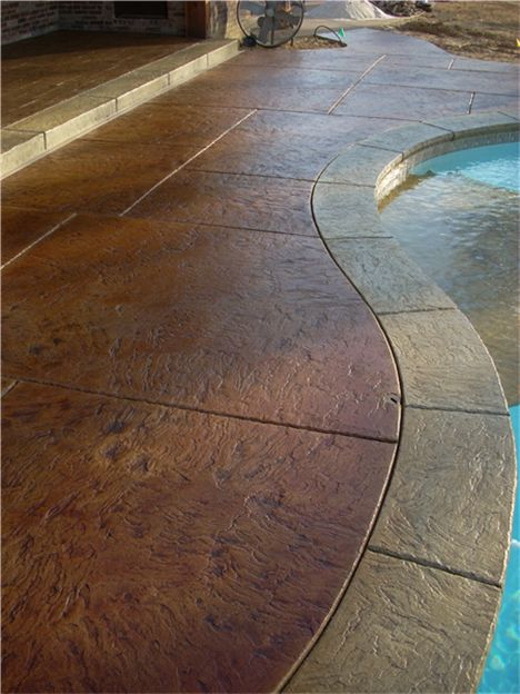 73 Best Contrete Staining Images On Pinterest Backyard