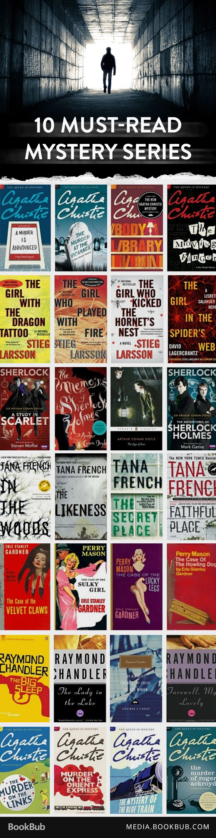 10 Classic Mystery Series Every Fan Should Read
