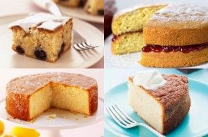 Mary Berry's lemon drizzle cake, basic fairy cakes and a simple ...