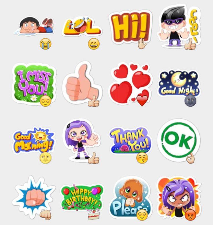 Viber Stickers Set | Telegram Stickers