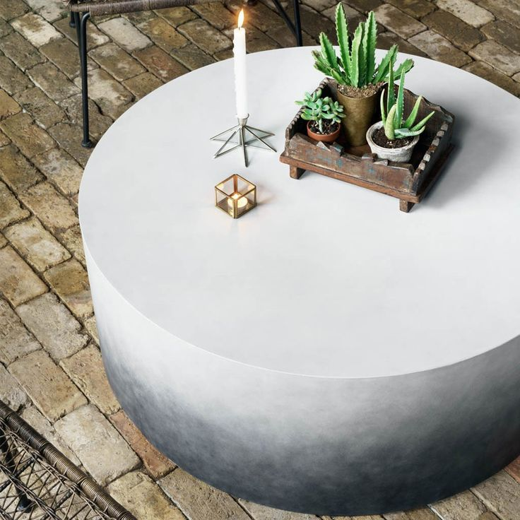 Sheridan Coffee Table. Concrete Coffee TableConcrete Outdoor TableRound ...