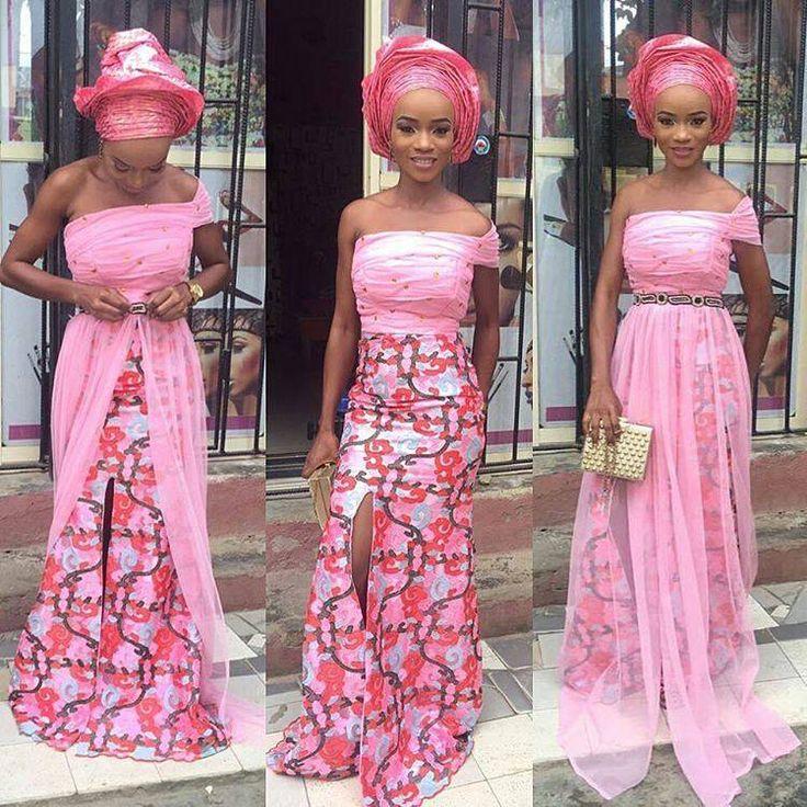 Mejores 660 imágenes de African Aso Ebi Lace Styles en Pinterest ...