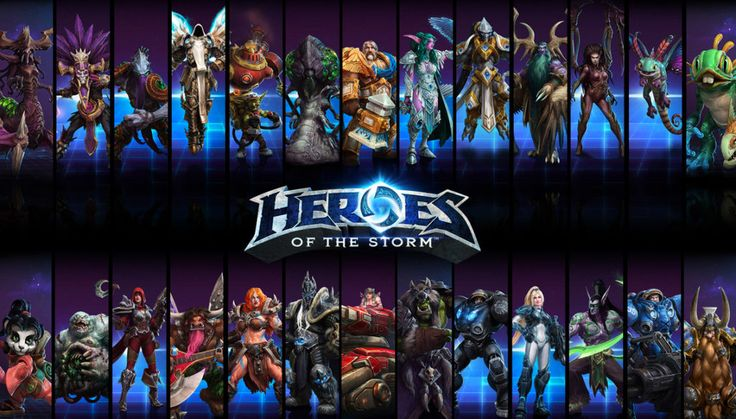 Heroes of The Storm jako jedna z najfajniejszych gier MMO w sieci. // Heroes of The Storm as a one of the best MMO games