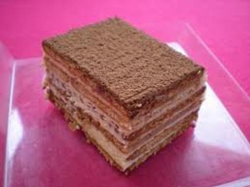 Gâteau aux petits beurres ('petits bruns') - Recette de cuisine Marmiton : une recette