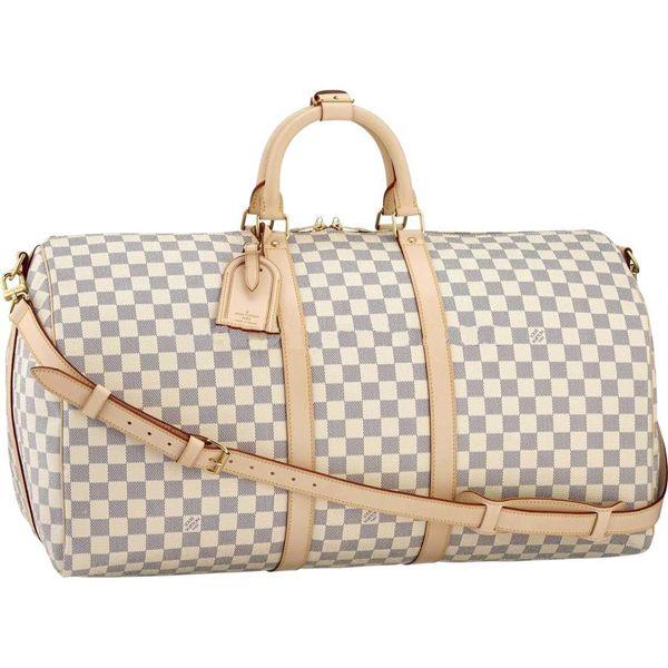 Louis Vuitton Damier Azur Canvas Keepall 55 N41429 Handbags
